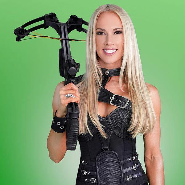 Female Crossbow Performer