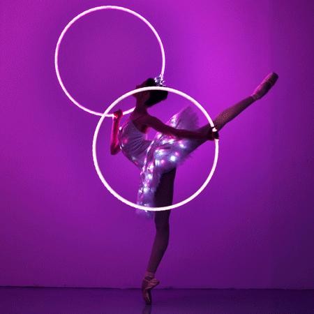Sophie Adams LED Ballerina and Hula Hoop Show