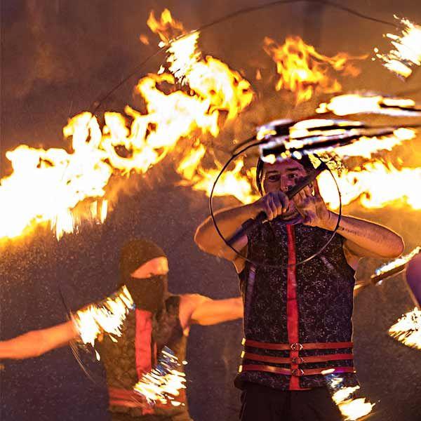 Sparkling Fire dance