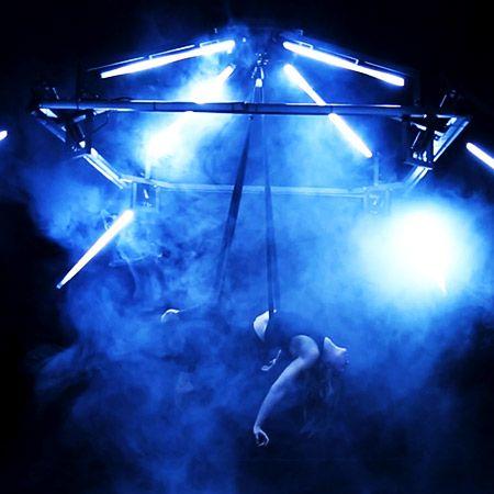 DDC Break Dancing Crew - Flying LED Aerialist Prop