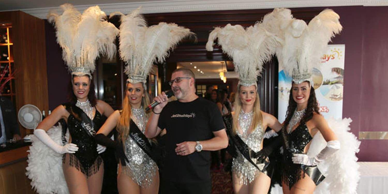 Showgirls Bring The Heat To Antrim Event