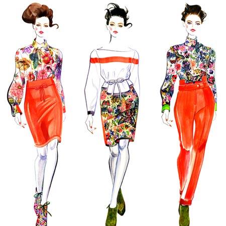 Sunny Gu - Fashion Illustrator