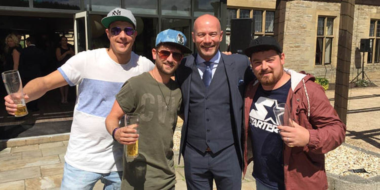 Beatbox Trio Sound Off At Northumberland Wedding