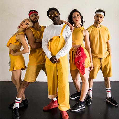 Krayze Show - Afro Hip Hop Dancers