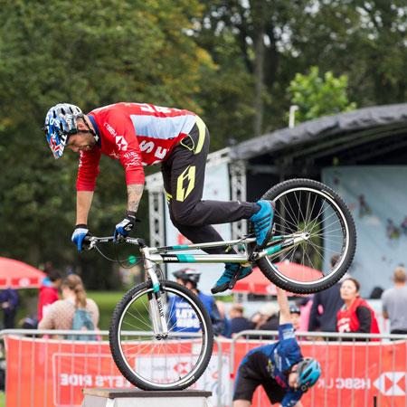 Daniel Butler - Extreme Mountain Bike Show