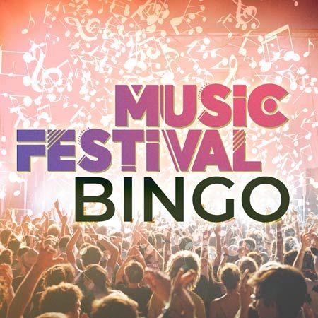 Custom Creations - Music Festival Virtual Bingo