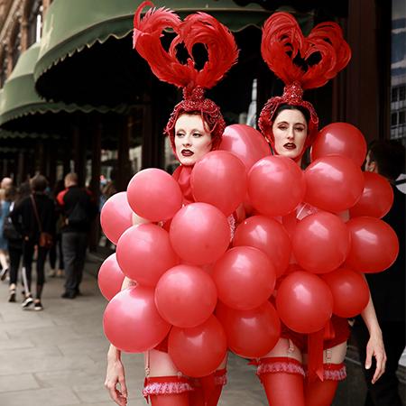 J'adore La Vie - Balloon Showgirls