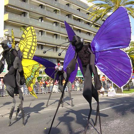 Neighbourhood Watch Stilts International & Soznak - The Butterfly Collection