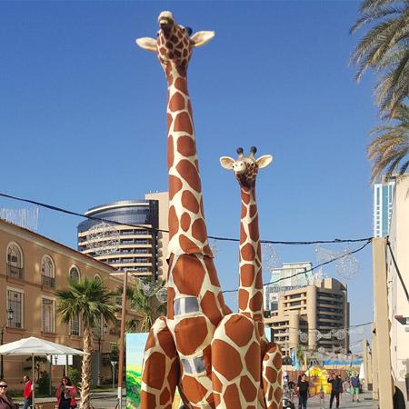 Weare Fire Storm - Giant 4ft Tall Giraffes