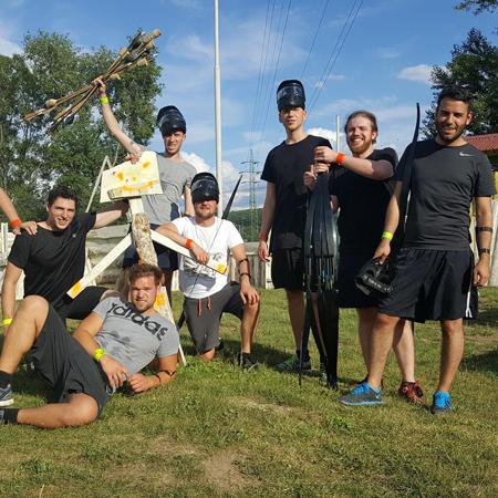 Archery Attack- Paintball Prague