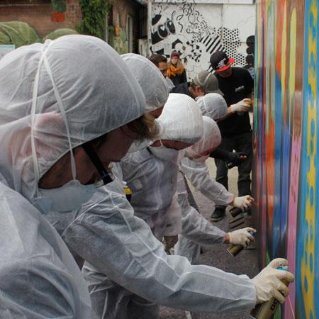 Time Bandits - Graffiti Workshop