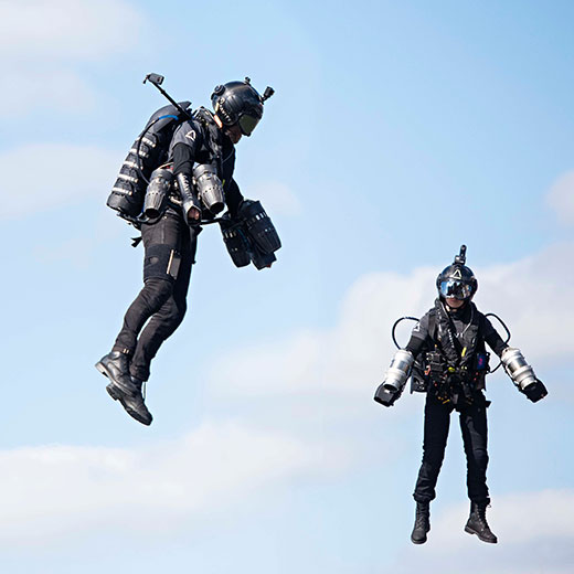 Gravity - Jetpack Pilots