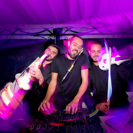 Trio Italy: Sax, Electric Violin and DJ