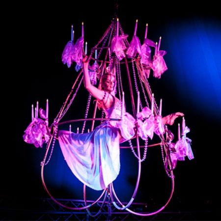 Svetlana Wottschel - Flying Chandelier