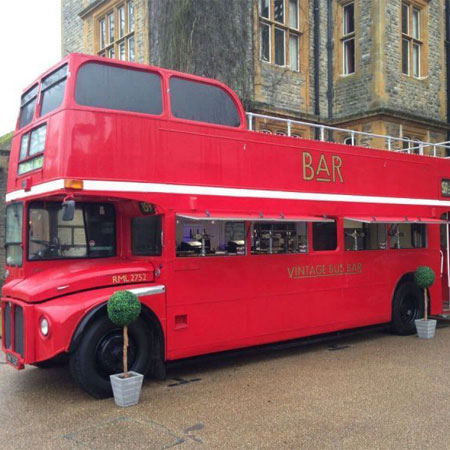 Vintage Bus Bar - The Vintage Routemaster Bus Bars