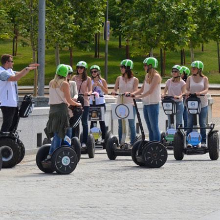 Segway Travel Madrid - Segway Tours