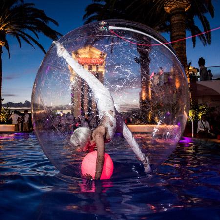 Hayden Productions - Aqua Sphre Act