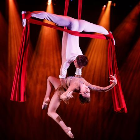 Aerial Silk Act - Artem & Iryna