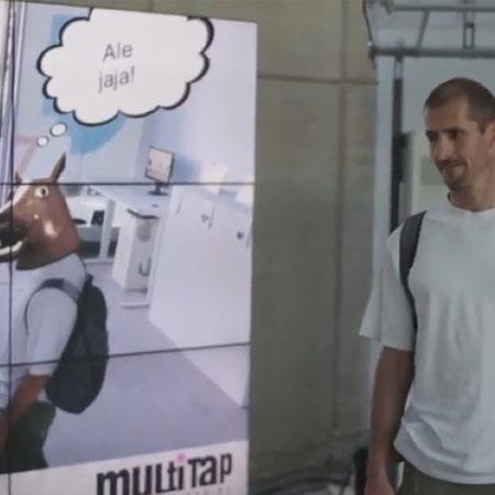 VR Delivr - Interactive Mirror