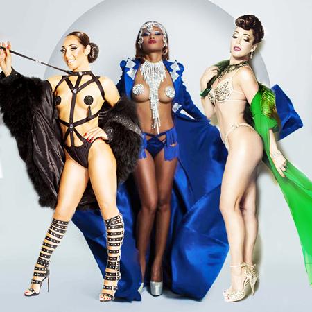 Les Capricieuses - Showgirls