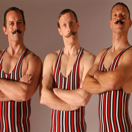 The Acro-Chaps - Victorian Strong Men