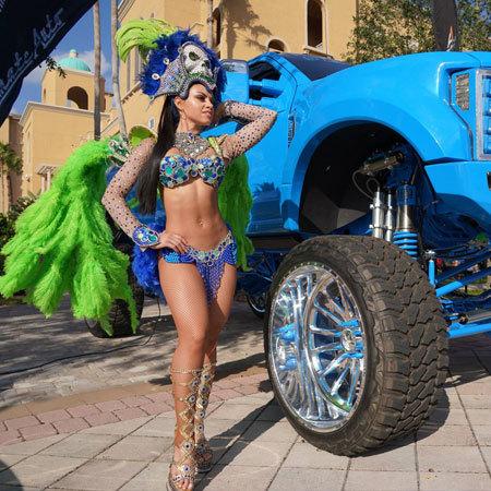 Phoebe Samba Dancers Group - Themed Hostesses