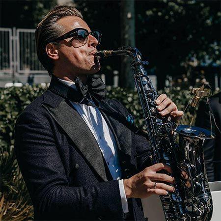 Saxy Mr. S. On Saxophone
