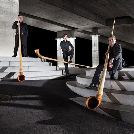 Swiss Alphorn Trio