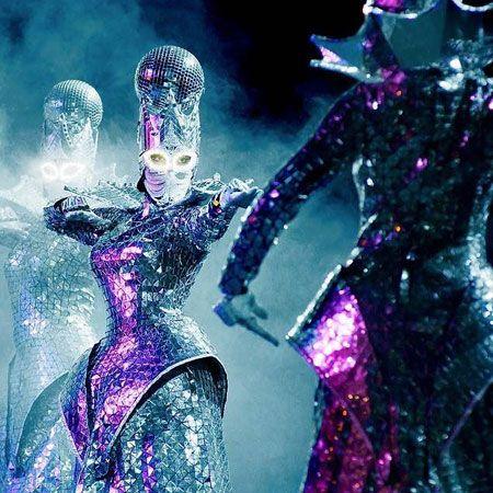 Light Laser Mirror Show - Extravaganza show