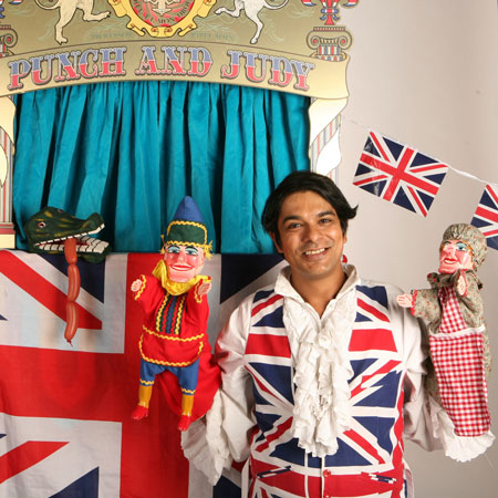Professor Patel's Punch & Judy Show - Traditional