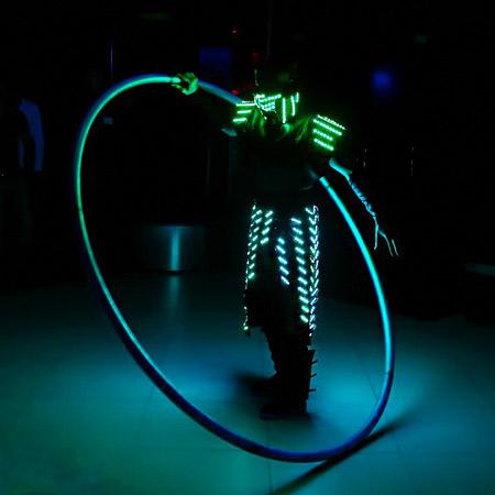 Misha Levotski - LED Cyr wheel