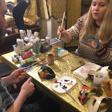 Vivo Venetia Mask decoration workshop