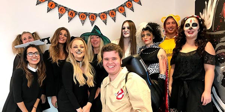 Scarlett Entertainment Team Celebrate Halloween