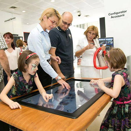 Spiderfrogs - Interactive Multi-touch Screens