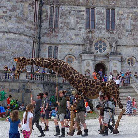 VIP Puppets - Dolly the Giraffe