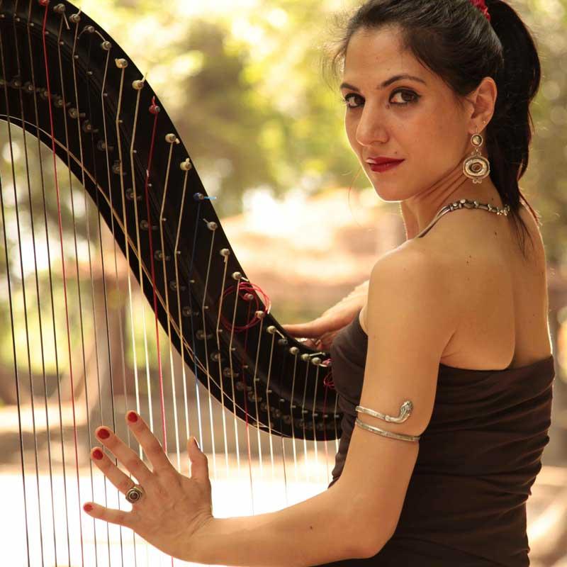 Clio K - Harpist