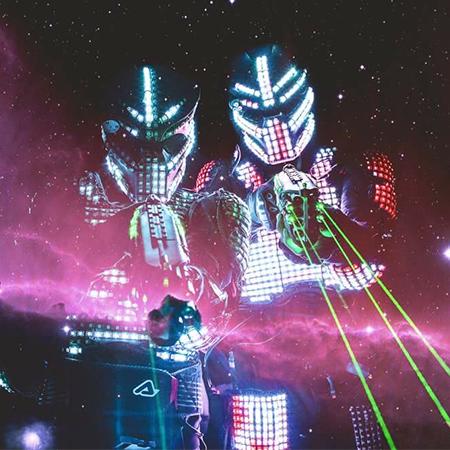 David Lightman Laser Show