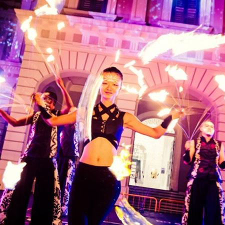 Starlight Alchemy - Fire Show