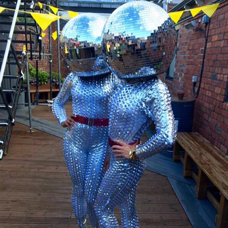 The Dance Mob - The Mirror Balls