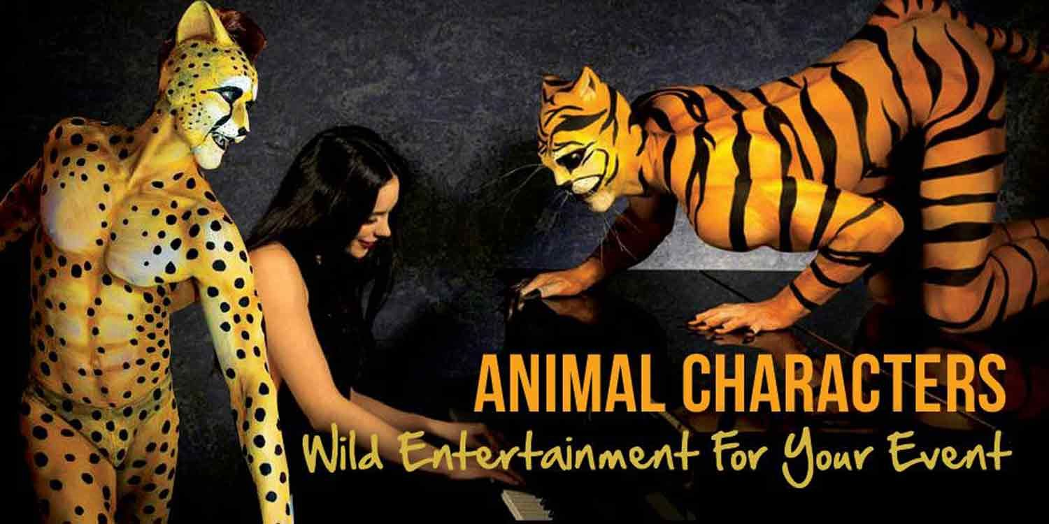 Animal Characters: Wild Entertainment For Your Event
