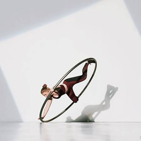 Polly Witherick - Cyr Wheel Performer