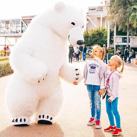 Cyprus Shows Project - Bobo the Polar Bear