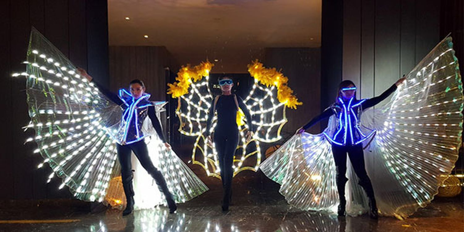 LED Butterflies Brighten Glock Asia Pacific Event In Bangkok