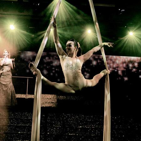Tatiana Kundyk - Aerial Silk
