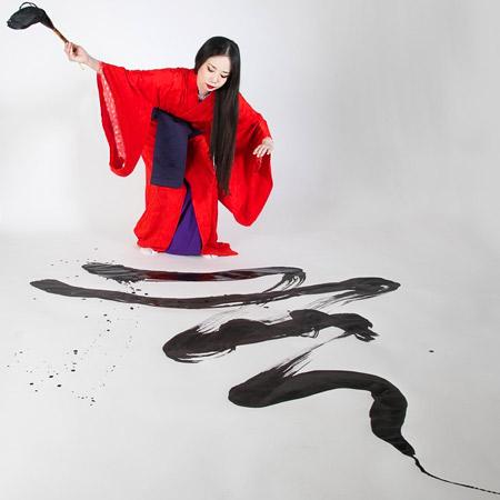 Kashuu Japanese Calligraphy Art