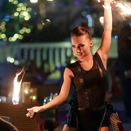 Yuliya Kazlova - Fire Dancer