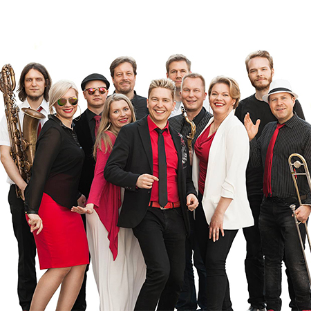 Mikko Pettinen & Happy People - Soul & Funk Band