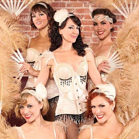 The Painted Ladies - Fan Dance