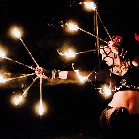 Jago and L-ion - Mystic Fire Theatre