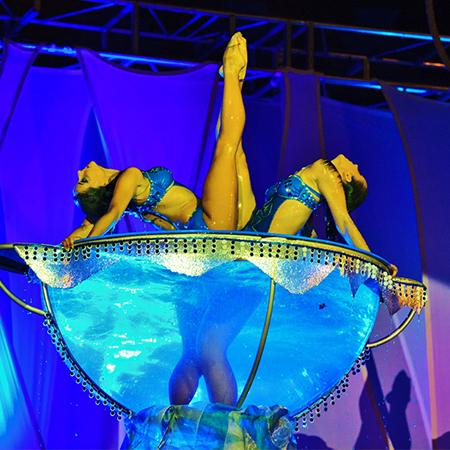 Dinamic Producción de espectáculos - Waterbowl